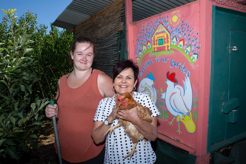 Marsha and Jan